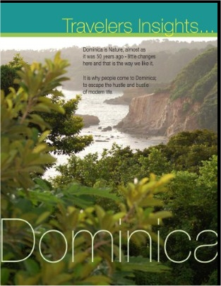 Travelers Insights magazine: Nature: Dominica