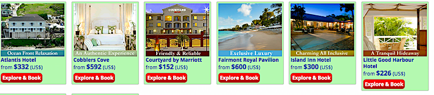 barbadosheritage vacation hotels