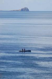 fishing boat-at sea