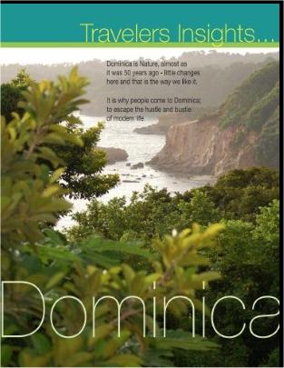 Travelers Insights magazine: Nature: Dominica